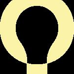 Lightico icon transparent - yellow