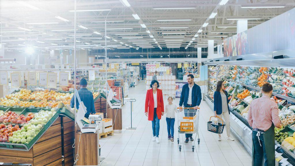 clean air in supermarket lightico