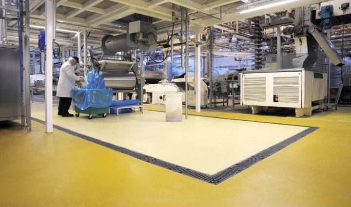 food factory hygiene with lightico and cleanlight