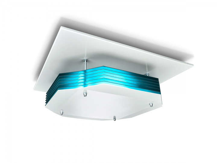 CleanLight v Philips UVC Disinfection Upper-Air Ceiling Mounted Unit